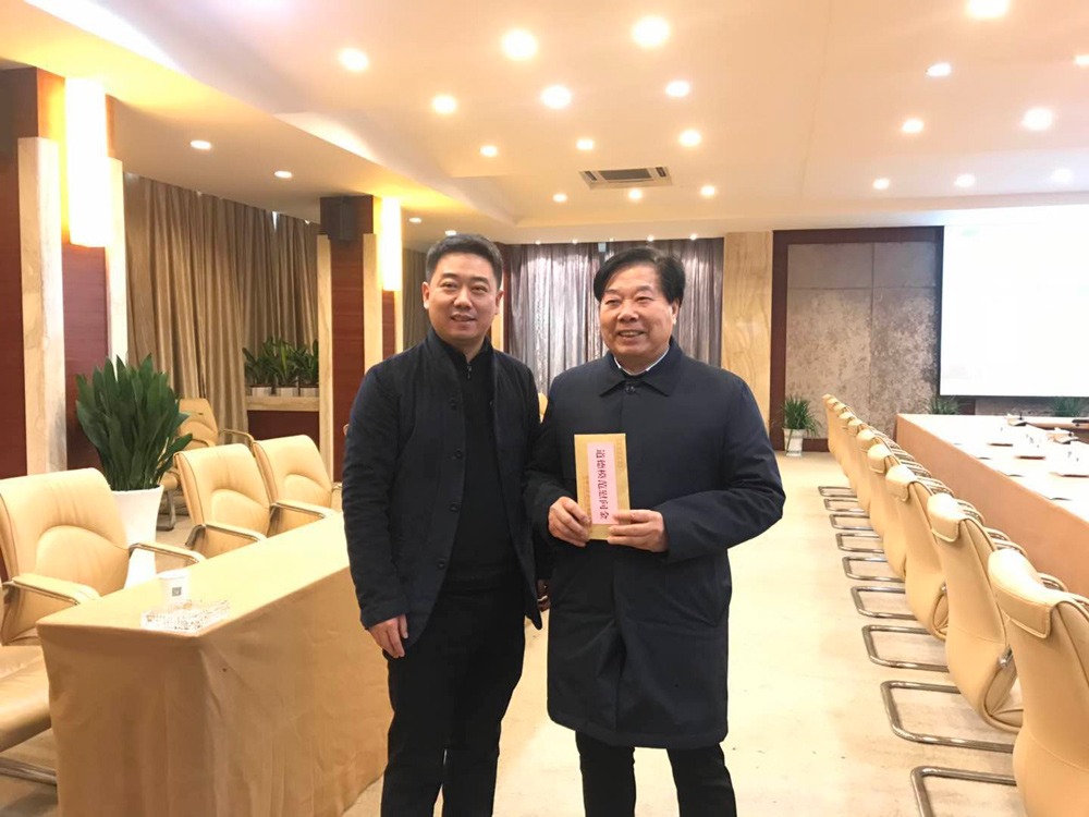 """市、区、镇领导慰问""""中国好人""""俞金坤"""