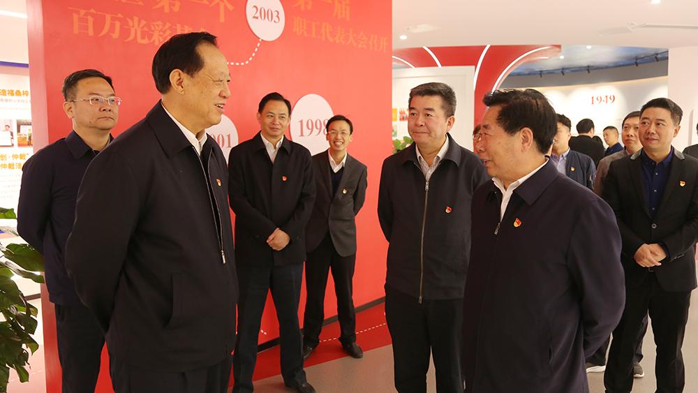 江苏省委第一巡回指导组调研凯发k国际主题教育工作