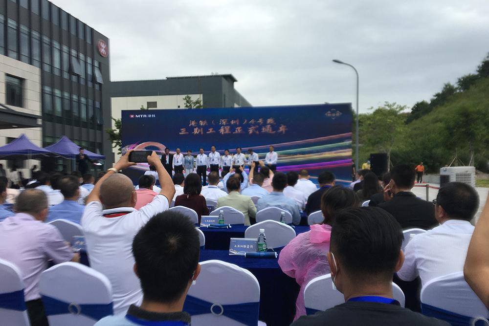 今创车辆助力港铁(深圳)4号线三期工程